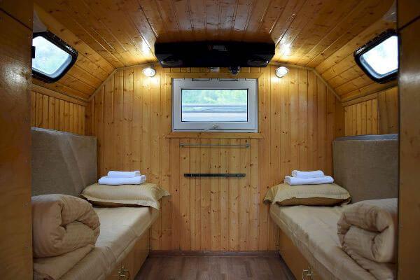 Зимний дом на колесах Iveco 4x4